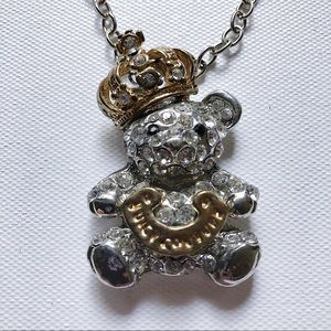 JUICY COUTURE Pendant Teddy Bear Necklace